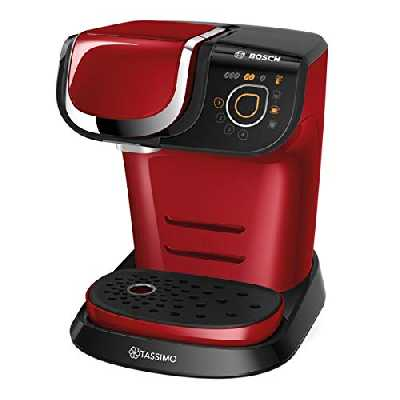 Bosch TAS6003 Machine Multi-Boissons 1500 W, 1,3 L, Rouge