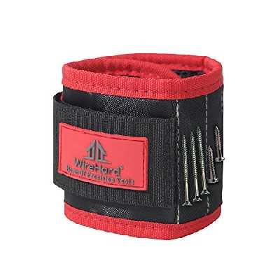 PRIME Bracelet Magnétique pour Bricoleur - Brassard pour les Réparations Domiciliaires - Construction - Charpenterie - Couture - DIY Projets - cadeaux pour les hommes - Papa - Cadeaux d'anniversaire
