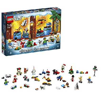 Lego Sa (FR) - Non Lego - City - Jeu De Construction - Le Calendrier de l'Avent Lego City, 60201