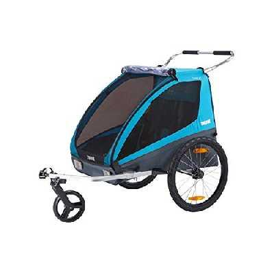 THULE 10101806 Coaster Xt Vélo/Poussette Inclus Bleu