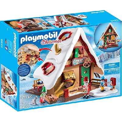 Playmobil - Atelier de Biscuit du Père Noël avec Moules - 9493