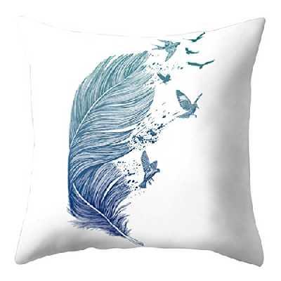 Bluelans Housse de coussin avec motif attrape-rêves - Pour la maison, le bureau