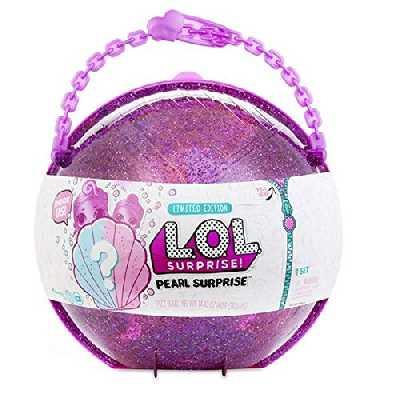 L.O.L. Surprise! Media sphère LOL et Lil Sisters, avec poignée, Exclusif, Rose ou Vert, de Lol Pearl Surprise Version espagnole Multicolore