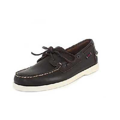 Sebago Docksides Portland Chaussures Bateau, Homme, Marron (DK Brown 901), 42 EU