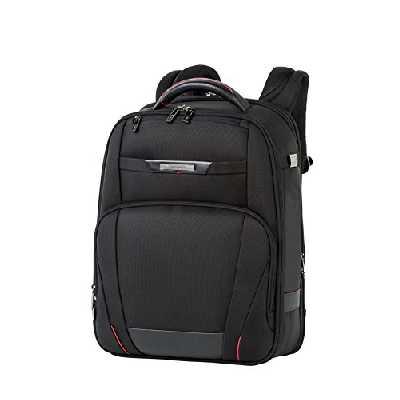 Samsonite Pro-DLX 5 - 15.6 Pouces Extensible Sac à Dos pour Ordinateur Portable, 44.5 cm, 21/26 L, Noir (Black)