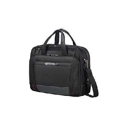 Samsonite Pro-DLX 5 - 15.6 Pouces Extensible Sacoche pour Ordinateur Portable, 42 cm, 17/23 L, Noir (Black)