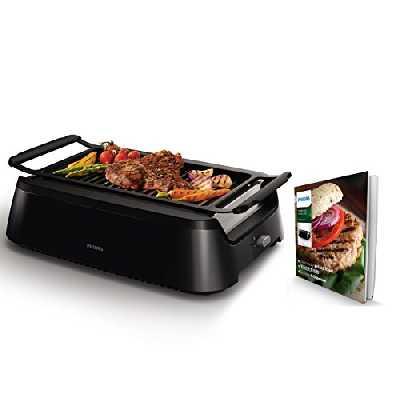 Philips hd6371/90Barbecue de table, noir