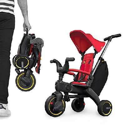Liki Trike by Doona SP530-99-031-005 S3 Tricycle Flame Rouge