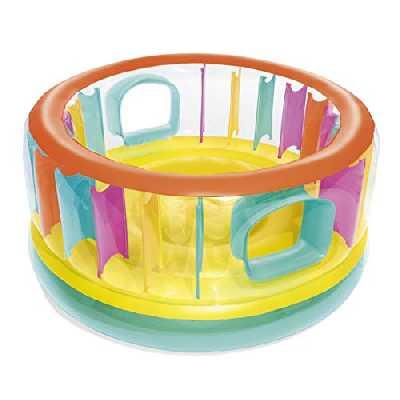 Bestway Trampoline Gonflable, 52262, Multicolore, 180 cm x 86 cm
