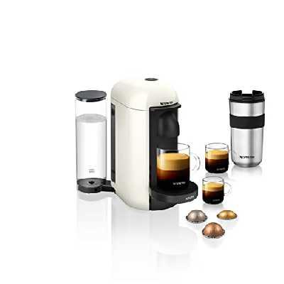 Krups Nespresso Vertuo Plus Machine à café Réservoir d'eau 1,1 l Blanc.