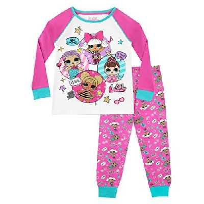 Lol Surprise - Ensemble De Pyjamas - Dolls - Fille, Multicolore, 5-6 ans