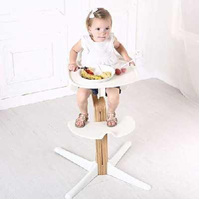 XHHWZB Chaise Haute Moderne/Chaise Junior Pliante Multi-Fonctions bébé, Une Table réglable de 0 à 6 Ans