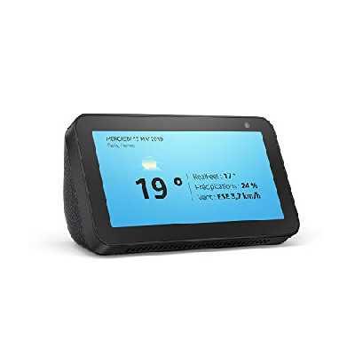 Echo Show 5 (1e génération, modèle 2019)   Écran connecté avec Alexa   Restez en contact avec l'aide d'Alexa   Anthracite