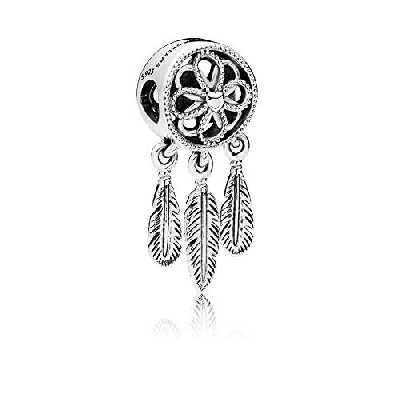 LafeeJewels Breloque attrape-rêves en argent sterling925 pour bijou Pandora
