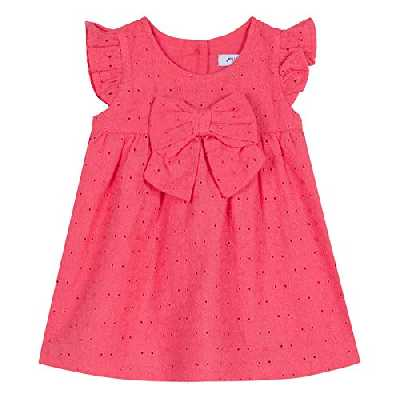 Absorba 9N30172 Dress Robe, Rose (Mid Pink 34), 0-3 Mois (Taille Fabricant:3M) Bébé Fille