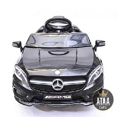 ATAA CARS Mercedes GLA 12v Voiture électrique pour Enfant avec Télécommande et Batterie 12v - Noir