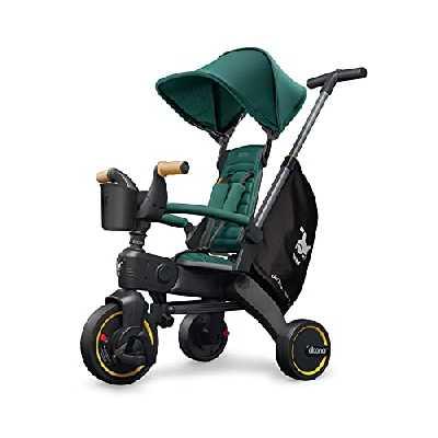 Doona Tricycle Liki Trike S5 véhicule enfant, Racing Green / vert
