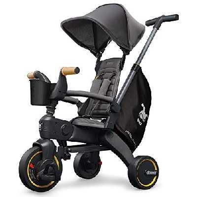 Doona Tricycle Liki Trike S5 véhicule Enfant, Grey Hound/Gris