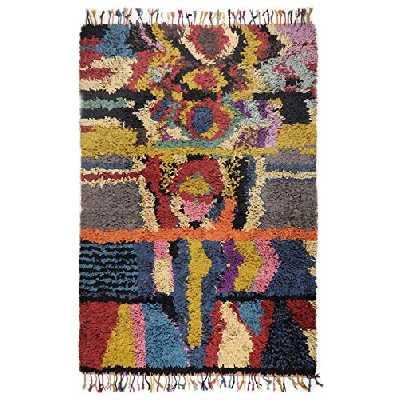 Tapis Boucherouite coloré Taille 160 x 230 cm