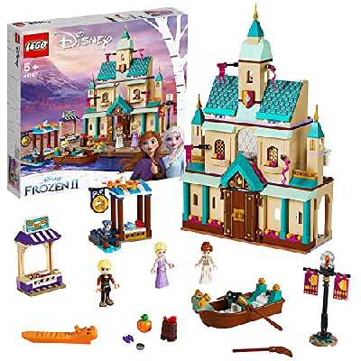 LEGO 41167 DisneyPrincess Lechâteaud'Arendelle, Ensemble de Jouets pour Filles et garçons de 5 Ans et Plus