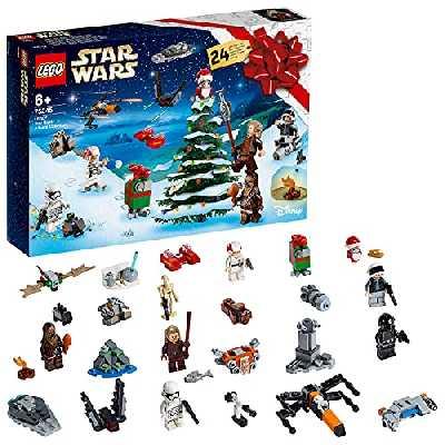 LEGO®-Star Wars™ Calendrier de l'Avent LEGO® Star Wars™ 2019 6 Ans et Plus, 280 Pièces 75245