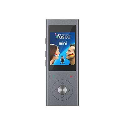 Vasco Mini 2 Traducteur vocal intelligent multilingue Internet gratuit compris
