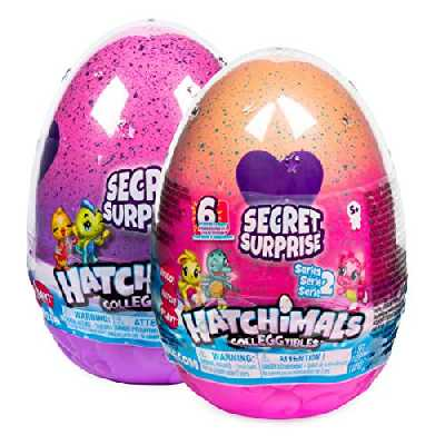 Hatchimals à Collectionner - 6047125 - Jouet enfant - Hatchimals Secret Surprise avec 3 Hatchimals à Collectionner - Modèles Aléatoires