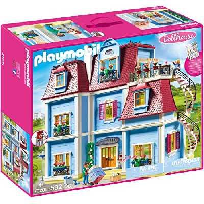 Playmobil - Grande Maison Moderne - 70205, 6, Coloré