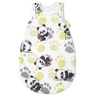 Bambou panda Pati'Chou Gigoteuse bébé 24-36 mois, Turbulette douce et chaude d'hiver, 110 cm