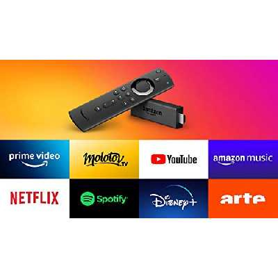 Fire TV Stick avec télécommande vocale Alexa, Lecteur multimédia en streaming