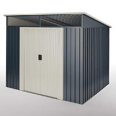 wasabi Abri de Jardin Stark 4.60 m2 - Garantie 10 Ans - 194x239x203cm