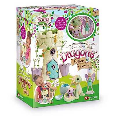 My Fairy Garden FG408 Dragon's Tower Garden Maison de poupée et Accessoires Multicolore