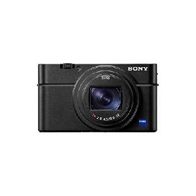 Sony RX100 VII | Appareil Photo Expert Premium Compact (Capteur de type 1.0, Optique Zeiss 24-200mm f/2.8-4.5 , Suivi de l'œil en Temps Réel (Humains et animaux), vidéo 4K, écran inclinable)
