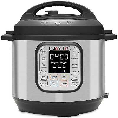 Instant Pot Autocuiseur électrique DUO 8L.Cuiseur intelligent 7 en 1: autocuiseur, mijoteuse, cuiseur à riz
