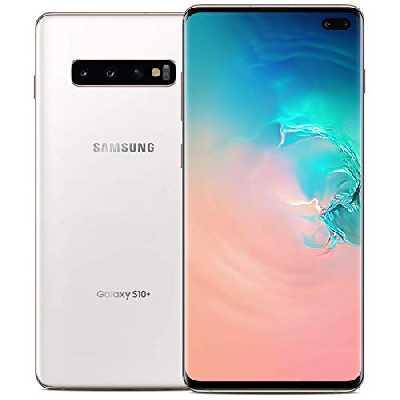 Samsung Smartphone Galaxy S10+ (Hybrid SIM) 128GB - Blanc (Reconditionné)