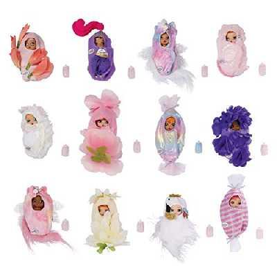 BABY born Surprise Babies 4 - pour les Petites Mains, Jeu Créatif Qui Développe l'Empathie et les Aptitudes Sociales, 3 ans et + - Contient une Couverture enveloppante, un Biberon et Bien plus