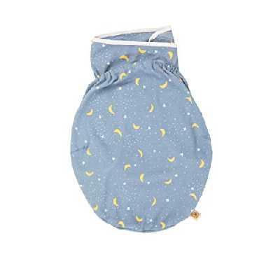 Ergobaby Couvertured'emmaillotage Bébé Coton, Gigoteuses Naissance, Sac de Couchage pour Bébé, Swaddler Stellar