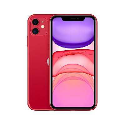 Apple iPhone 11 (128Go) - (Product) Red (Comprend EarPods, Câble Lightning vers USB, Adaptateur Secteur USB)(Comprend EarPods, Câble Lightning vers USB, Adaptateur Secteur USB)
