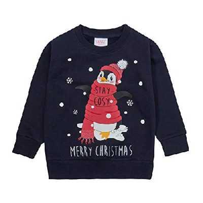 Lora Dora Pull de Noël unisexe - - 3-4 ans
