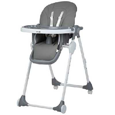 Safety 1st Looky Chaise Haute enfant évolutive multipositions,6 Mois à 3,5 Ans, Warm Grey