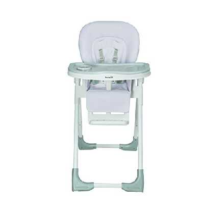 Brevi Domino Chaise haute Gris