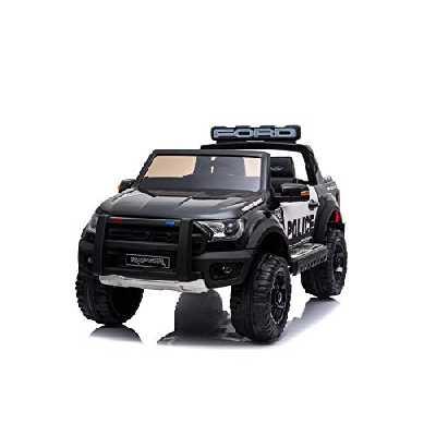 RIRICAR Voiture électrique pour Enfants Ford Raptor, 2 Places, avec Télécommande 2,4 GHz, Batterie: 12V / 10Ah, 2 x Moteur 12V 35W