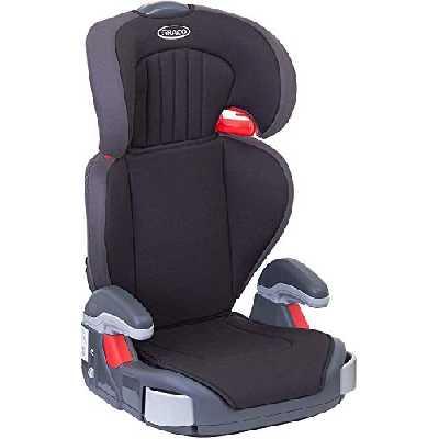Graco Junior Maxi Siège auto rehausseur à dossier haut léger Groupe 2/3 (4 à 12 ans environ, 15-36 kg) Noir