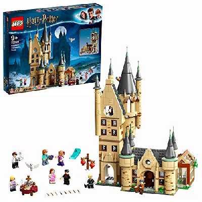 LEGO® Harry Potter™ La Tour d'Astronomie de Poudlard, Jeu de Construction pour Enfant de la Célèbre Tour du Château de Poudlard, 971 Pièces, 75969