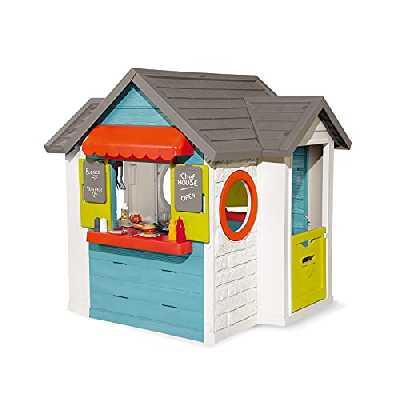 Smoby - Maison Chef House - Cabane de Jardin Enfant - Cuisine et Marchande - Coloré - 810403
