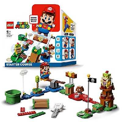 LEGO 71360 SuperMario PackdeDémarrageLesAventuresdeMario - Jouet interactif - Jeu de Construction incluant la Figurine