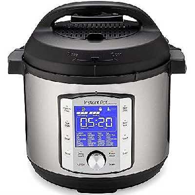 Instant Pot Autocuiseur électrique DUO EVO PLUS 5,7 L.10 fonctions en 1: stérilisateur, mijoteuse, cuiseur à riz, machine à grains, cuiseur vapeur, sauté