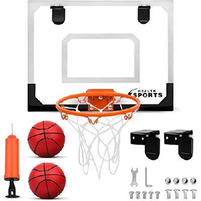Dreamon Mini Panier de Basket Enfant Interieur, Panier de Basket Mural Bureau Salle Accessoire Jouets de Sport pour Garçon