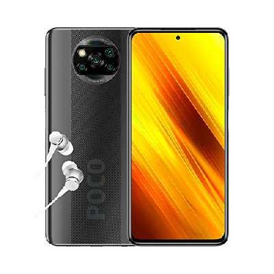 Poco X3 NFC - Smartphone Débloqué 4G (6,67 Pouces - 6Go RAM - 128Go Stockage, 5160mAh, Quad Caméra – NFC) Gris Shadow - Version Officielle + 2ans de garantie
