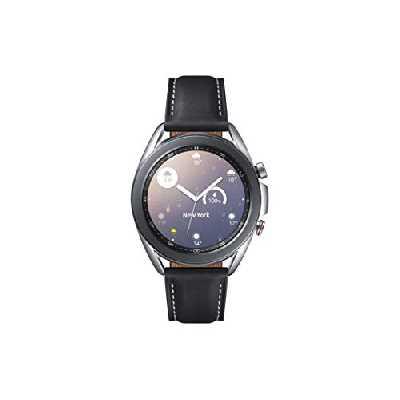 Samsung Galaxy Watch3 Montre connectée de 41 mm I LTE I Argenté I Acier